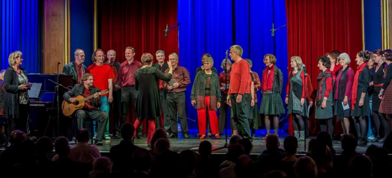 Beim Chor-Open Stage am 9.05.2014 in der UFA Fabrik